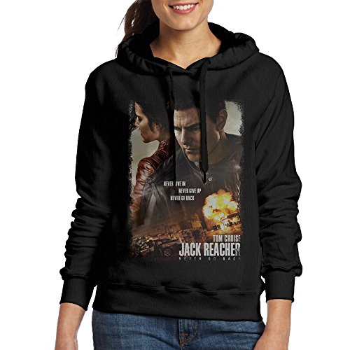 MARC Women's Jack Reacher Never Go Back 2 Sweatshirt Black Size - Style Shop Kardashian Kourtney