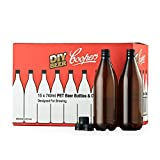 Coopers DIY Beer 740ml Oxygen Barrier Home Brewing Beer Bottling Set, Qty. 15