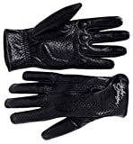 Harley-Davidson Womens Perforated Full Finger Leather Gloves 98346-09VW (X-Large)