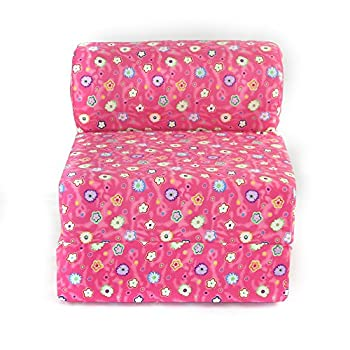 Image of Home and Kitchen American Furniture Alliance Twin Child Sofa Sleeper, Jr, Pink Flower