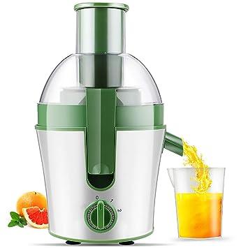 Lndixy Exprimidor máquina de Jugo de Frutas Enteras with75mm tolva de alimentación, Extractor de Jugo de Fruta Entera, 3 Velocidad de Ajuste centrífugo ...