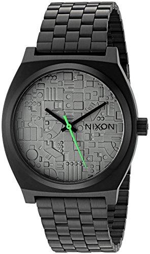 Nixon Men's 'Time Teller SW, Death Star' Quartz Stainless Steel Casual Watch, Color:Black (Model: A045SW-2383-00)