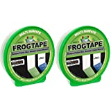 Duck FrogTape Multi-Surface Painting Tape, Green, 0.94 in. x 60 yd. - 2 Tape