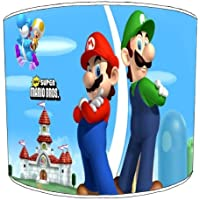 Premier Lampshades Ceiling Super Mario Brothers Childrens Lampshades - 12 Inch