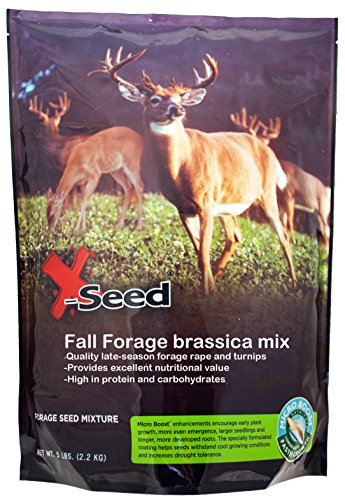 Plots Plant Food (X-Seed 20210 Fall Foliage Brassica Food Plot Mixture with Micro-Boost)