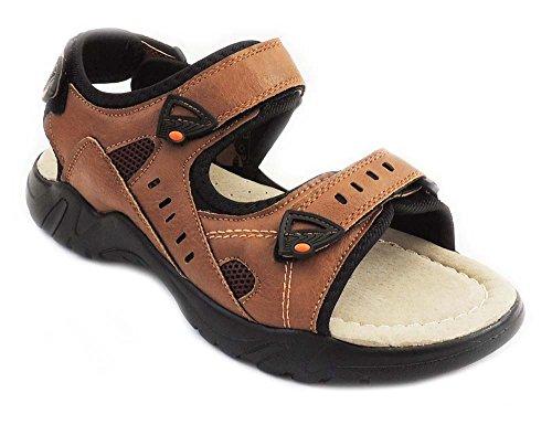 Nuova Moda Eurbak Mens Scarpe Da Spiaggia Sandalo Comfort Scarpe Leggere 1502 Tan