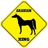 Arabian Crossing Funny Metal Aluminum Novelty Sign