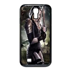 Samsung Galaxy S4 9500 Phone Case Cover Black Valkyrie Girl EUA15984655 Phone Case Cover 3D Custom