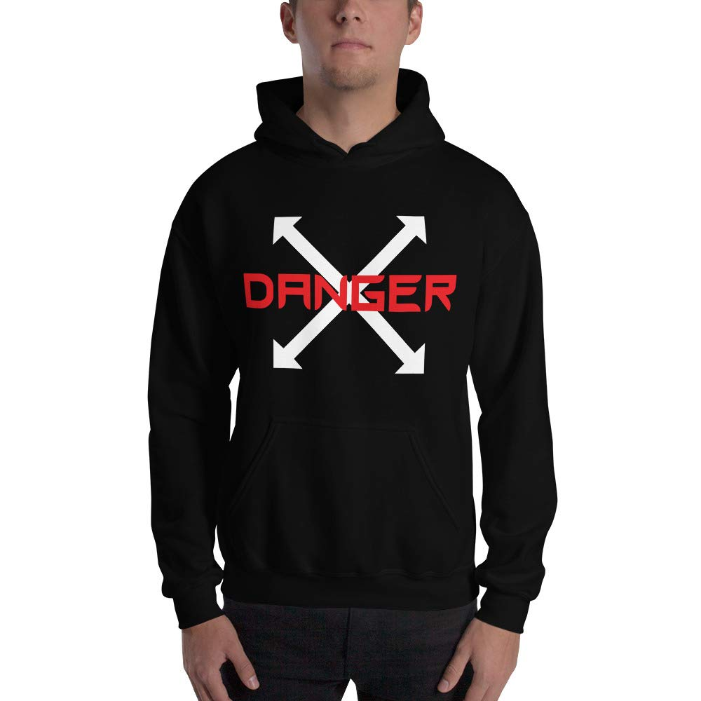 Viam Star Danger Authentic Sweatshirt Sweater Pullover-Unisex Hoodie