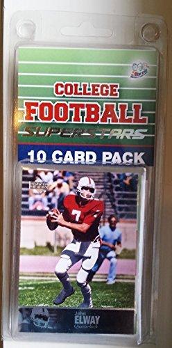 10 card pack college football stanford cardinals different superstars starter - Stores Stanford