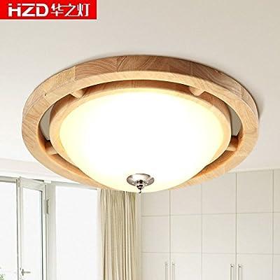 SL Luces de techo de estilo europeo Lámparas IKEA madera ...