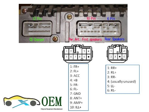 51c62cv2TYL amazon com reverse wiring harness for 1987 2007 toyota lexus 2004 toyota camry radio wiring diagram at panicattacktreatment.co