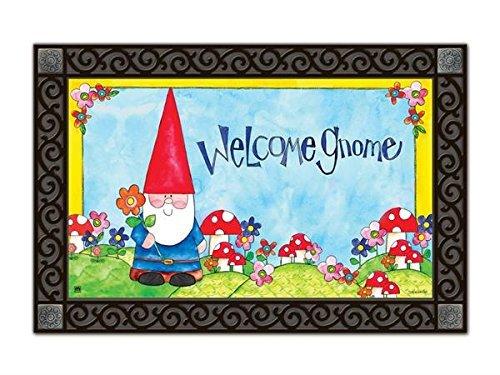Studio M Welcome Gnome MatMate Springtime Indoor Outdoor (Gnome Mat)