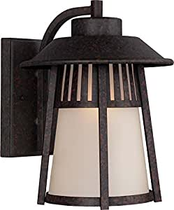 Seagull 8711701-746 One Light Outdoor Wall Sconce