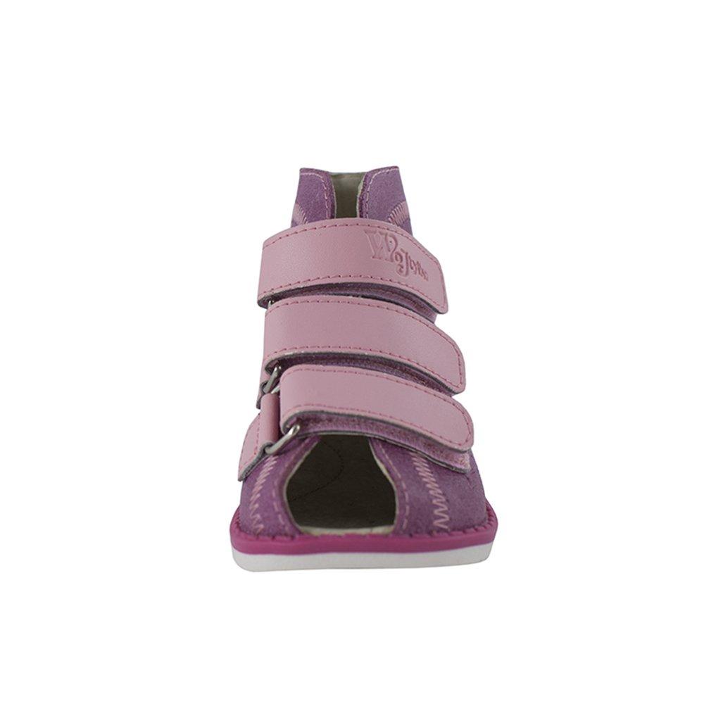 Orthopädie Sandale aus Leder für Kinder (Ort-3r) (31 - 19,9cm, Marineblau)