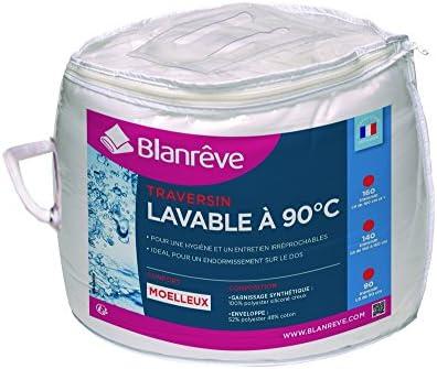 blanr/êve Nackenrolle waschbar A 90//°C Polyester Baumwolle wei/ß 160/x 20/cm