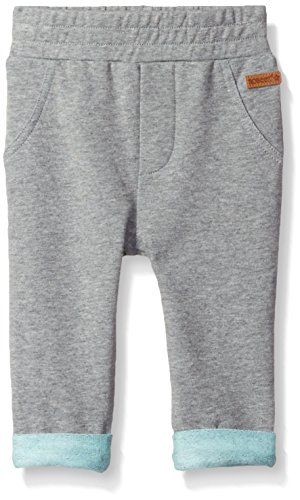 Robeez Baby Knit Pant, Grey, 12 Months