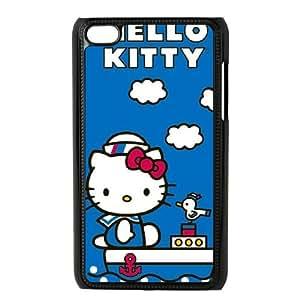 iPod Touch 4 Case Black Hello Kitty Sailing JNR2023458