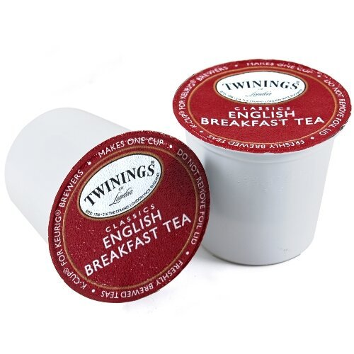 Twinings English Breakfast Tea Keurig K-Cups, 96 Count