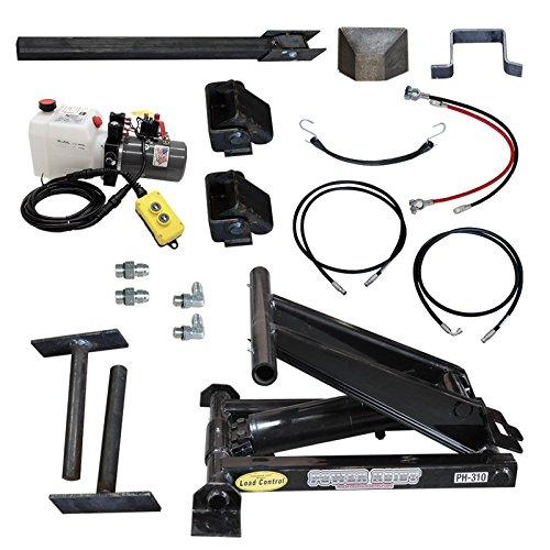 3 Ton (6,000 lb) Dump Trailer Hydraulic Scissor Hoist Standard Kit - Power Hoist 310 ()