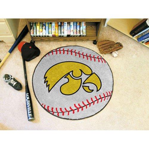 Iowa Baseball Rug