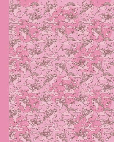 Sketchbook: Baby Pegasus (Pink) 8x10 - BLANK JOURNAL NO LINES - unlined, unruled pages (Baby Animals Sketchbook Series) by CreateSpace Independent Publishing Platform