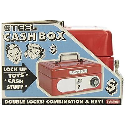 Schylling Locking Cash Box: Toys & Games