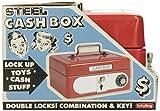 Schylling Locking Cash Box Red, 1 EA