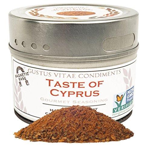 Taste of Cyprus, Non-GMO, 1.7oz, Gourmet Seasoning