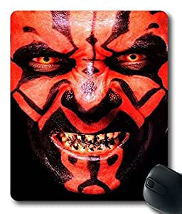 Star Wars Darth Maul Custom?Cloth?Top?Mouse?Pad Mouse?Mat by Maris's Diaryby Maris's Diary