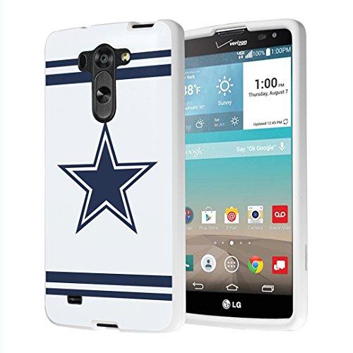 LG G Vista Case, Capsule-Case Slim Fit Snap-on (White) Hard Case for LG G Vista VS880 / LG G Vista D631 - (Cowboy) (Phone Cases Lg Vista Cowboy)