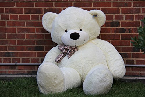 Joyfay Giant Teddy Bear 78''(6.5 Feet) White by Joyfay (Image #3)