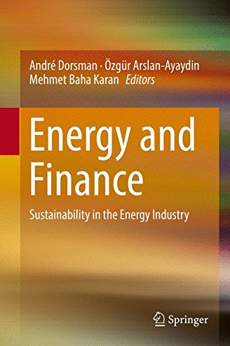 Energy and Finance: Sustainability in the Energy Industry
