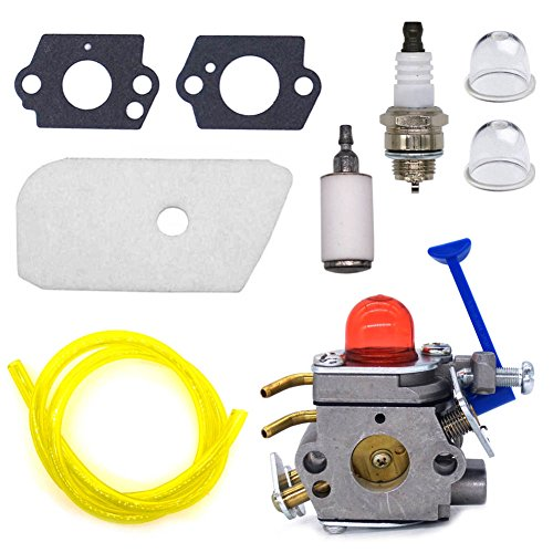 - FitBest Carburetor Kit for Husqvarna 128C 128L 128LD 128R 128RJ 128CD 128LDX Trimmer 545081848 C1Q-W40A Carb