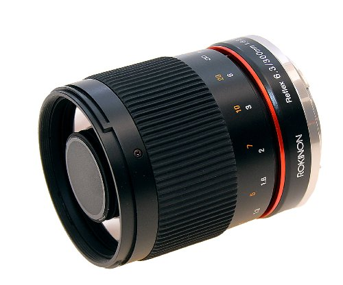 Lente de espejo Rokinon 300M-S 300mm F6.3 para cámaras Sony Alpha