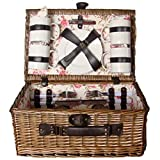 Picnic & Beyond Picnic Basket for 4 Pb1-3080b by Picnic & Beyond