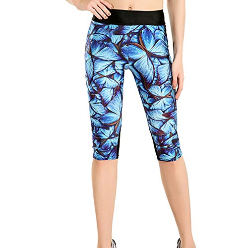 Womens Printed Active Workout Leggings product image