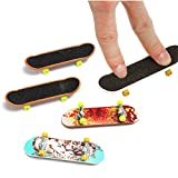 Toys & Gifts - 5pcs Pack Finger Board Deck Truck Skateboard Boy Child Toy - Bundle Thumb Miniature Backpack Digit Plaything Pile Feel Fiddle Cram Fingerbreadth Diddle Carry Play Dally