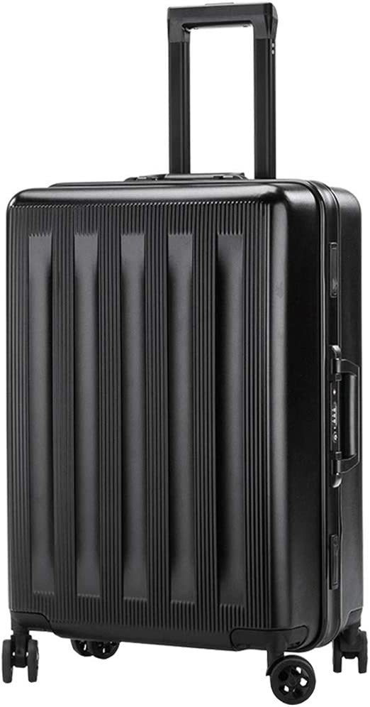 BMHFF Hardshell Luggage TSA Approved Lock Airports Carry-On 8 Spinner Wheel Suitcase Durable Trolley Case 20In24in for Men and Women