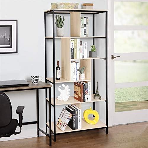 Best modern bookcase: amzdeal Bookcase Modern Bookcase