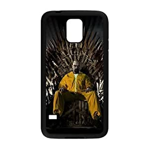 C-EUR Customized Print Breaking bad Hard Skin Case Compatible For Samsung Galaxy S5 I9600