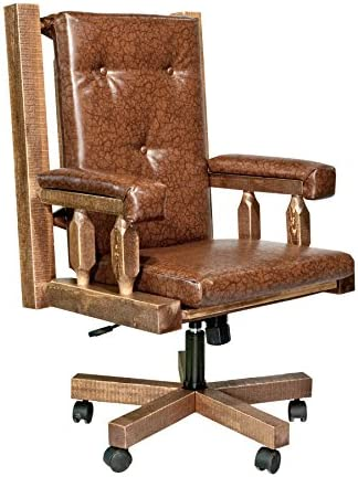 Montana Woodworks Homestead Collection Office Chair
