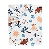 Lambs & Ivy Lion King Adventure Fitted Crib