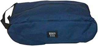 product image for BAGS USA Shoe Bag,Golf Shoe Bag Durable Stain Resistant,fits up to Size 13 Made in U.s.a. (Navy)