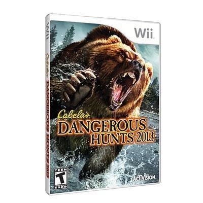 - Activision Blizzard Inc Cabelas Dangerous Hunts 2013
