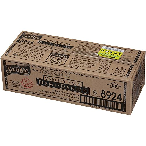 Chef Pierre Demi Danish - Variety Pack, 1.25 Ounce - 50 per case. by Sara Lee (Image #2)