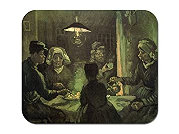 Los comedores de patatas - Vincent Van Gogh alfombrilla de ratón ...