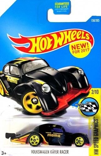 Volkswagen Kafer Racer Hot Wheels Momo Hw Speed Graphics Black New For 2017 Rare 156 365