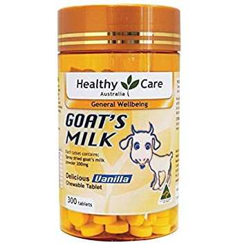 Amazon Com Healthy Care Goat Milk Vanilla Flavour Chewable 300