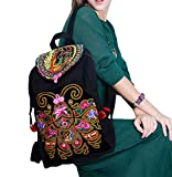 100% Handmade Handbag Purse Backpack Tribal Bag - Fine Oriental Embroidery Art # 170